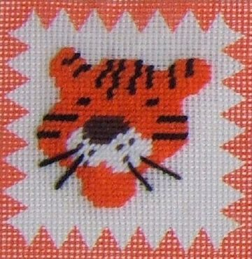 Tiger Tapestry Kit by Daisy Designs from Derwent water Designs.